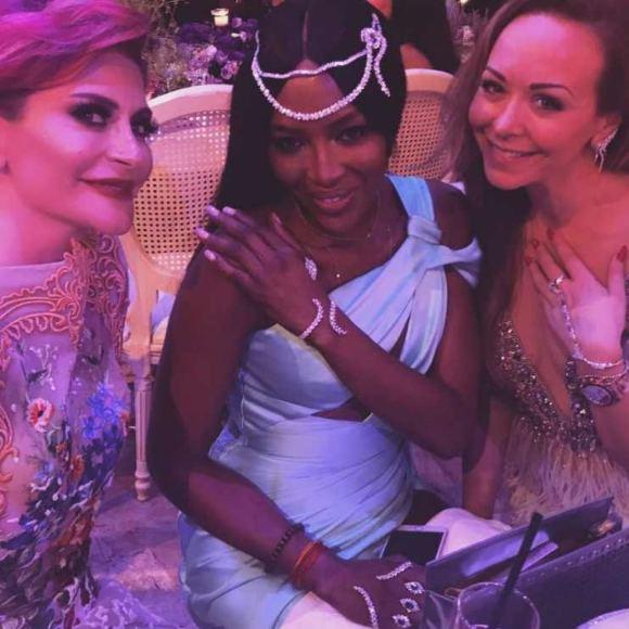 """""""Instagram"""" nuotr./Naomi Campbell ir dizainerė Tamara Ralph (dešinėje)"""