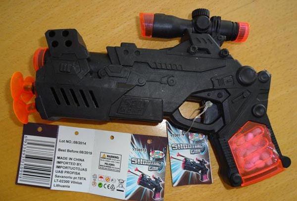 Nesaugus žaislinis šautuvas