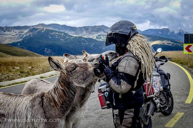 Kelionės po Norvegiją, Tadžikistaną ir Rumuniją vaizdai