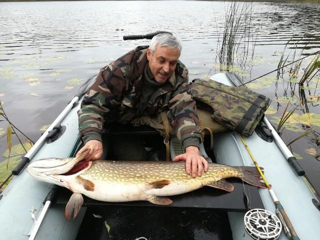 Sartų ežere Benjamino Sakalausko sužvejota lydeka – šių metų rajono rekordas.
