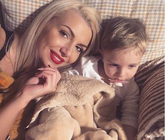 Instagram nuotr./Monika Šedžiuvienė su sūnumi