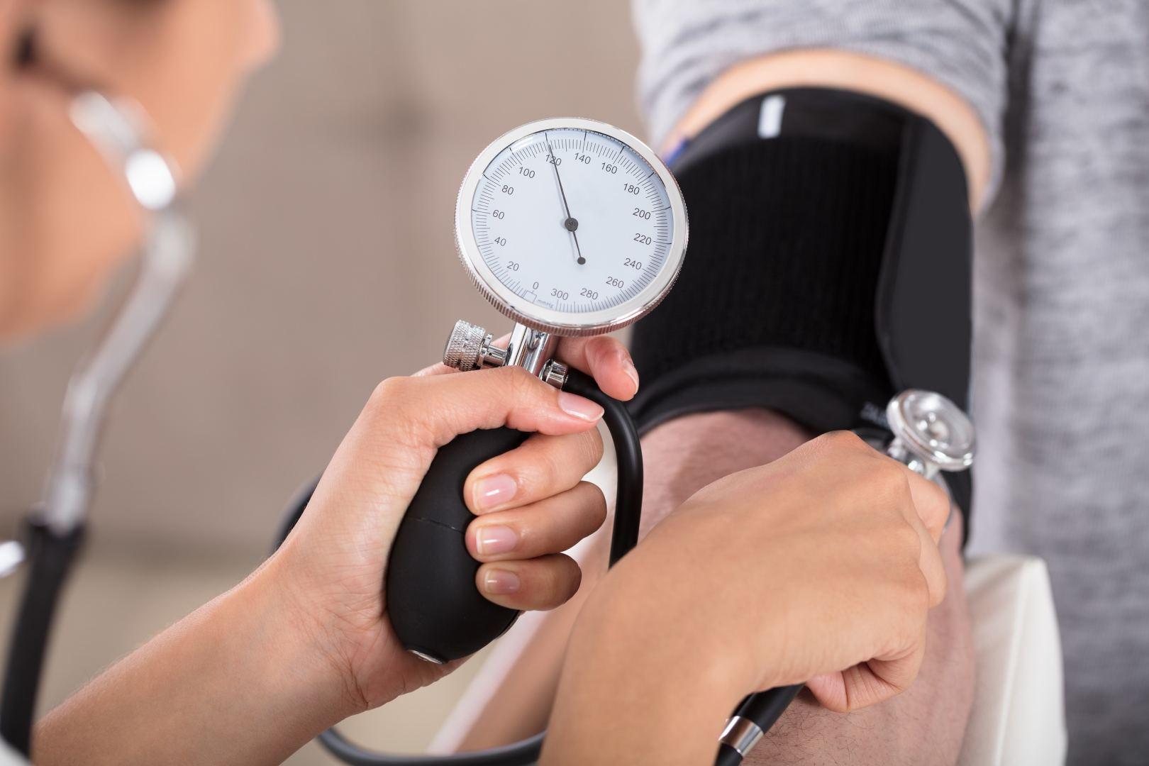 hipertenzija koks tyrimas