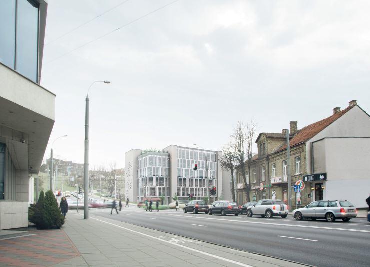 """""""SP architektų grupė""""/Vietoje """"Tauro rago"""" kavinės sostinės centre planuojamas naujas projektas"""