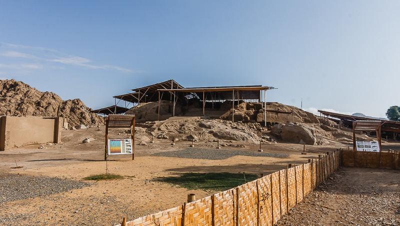 Ventarono šventykla, Peru