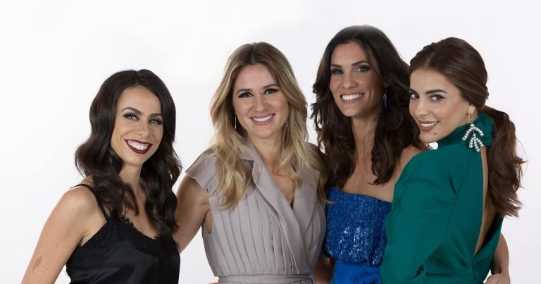 Filomena Cautela, Sílvia Alberto, Daniela Ruah ir Catarina Furtado