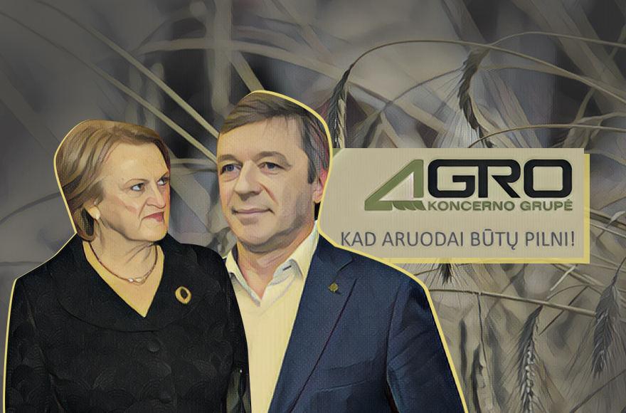 Kazimira Prunskienė ir Ramūnas Karbauskis