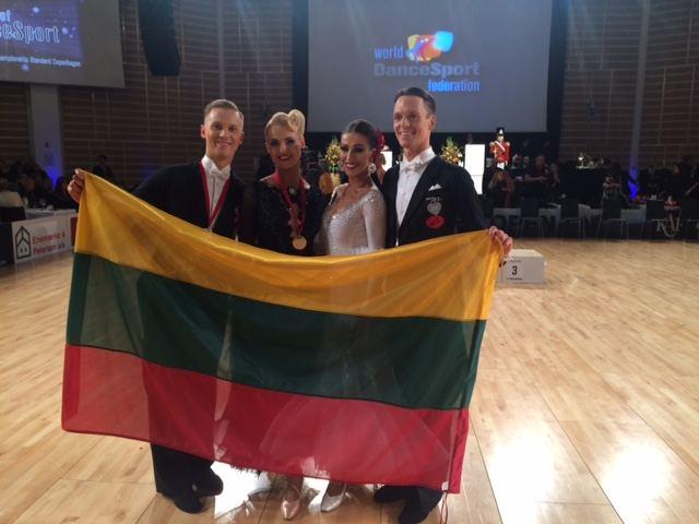 Lietuvos šokėjai po varžybų