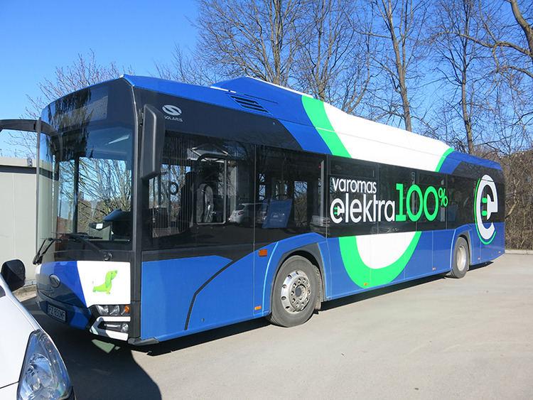 Elektrinio autobuso idėja Tauragėje buvo pristatyta jau prieš kelerius metus