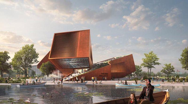 """""""UNStudio"""" Paryžiuje laimėjo architektūros konkursą"""
