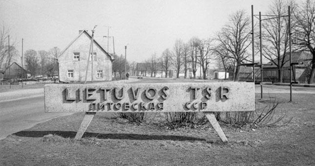 Tokį užrašą Panemunėje rado atvažiavę pirmieji savanoriai iš Klaipėdos.