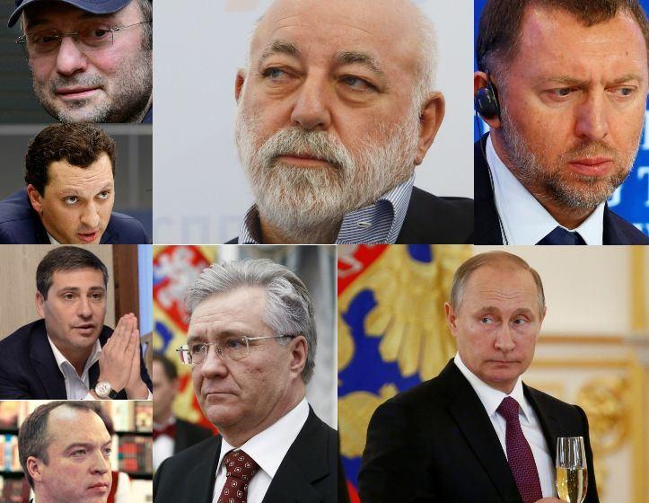 JAV paskelbė sankcijas dar septyniems Rusijos turtuoliams, kurie yra siejami su Kremliumi
