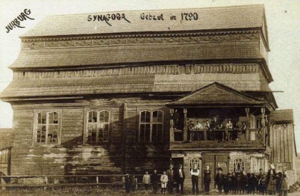 Jurbarko sinagoga 1790–1941 m.