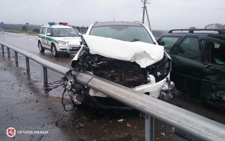 """Nissan Quashqai"" po avarijos"