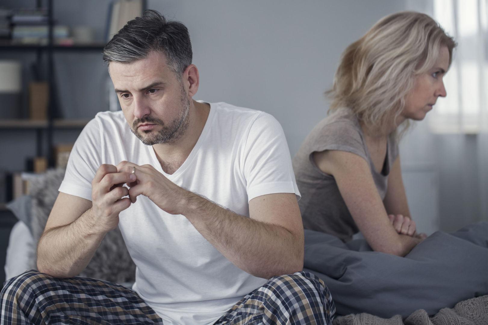 Kai intymumui trukdo vyrų sveikatos bėdos
