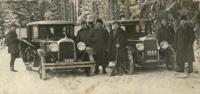 Automobiliai tarpukario Lietuvoje