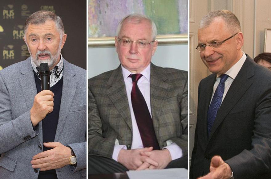 Augustinas Rakauskas, Jevgenijus Kostinas, Alvydas Žabolis