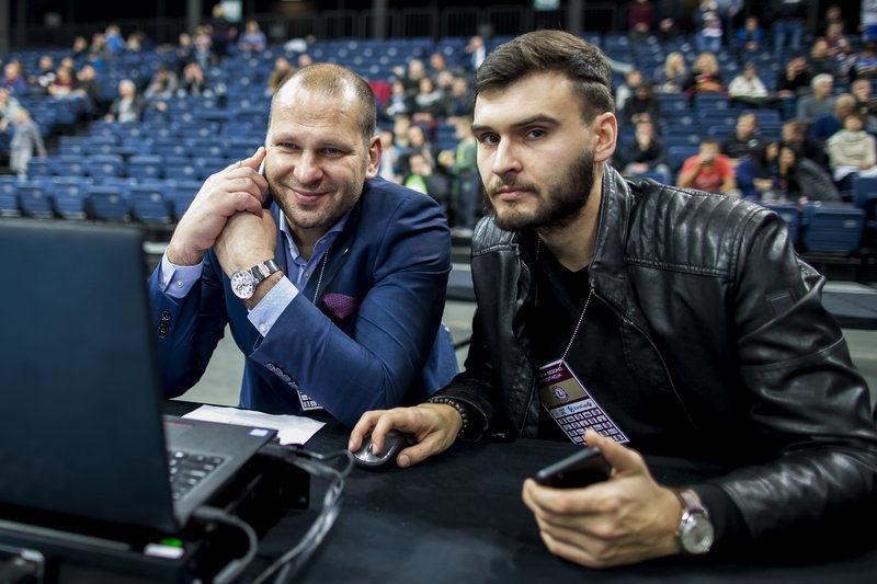 Mantas Ignatavičius ir Rokas Mickevičius