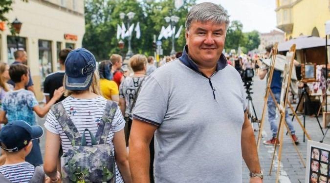 Vitės bendruomenės atstovas bei buvęs seniūnaitis Ruslanas Šneideratas.