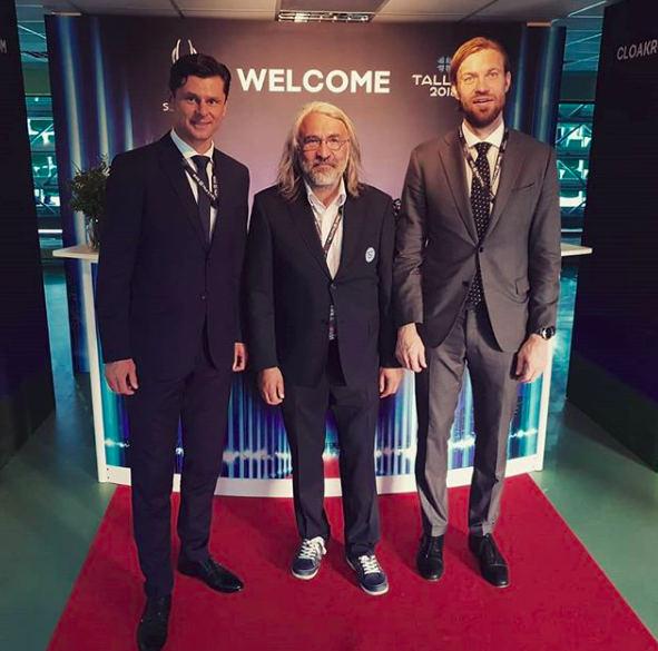 Baltijos šalių futbolo federacijų vadovai