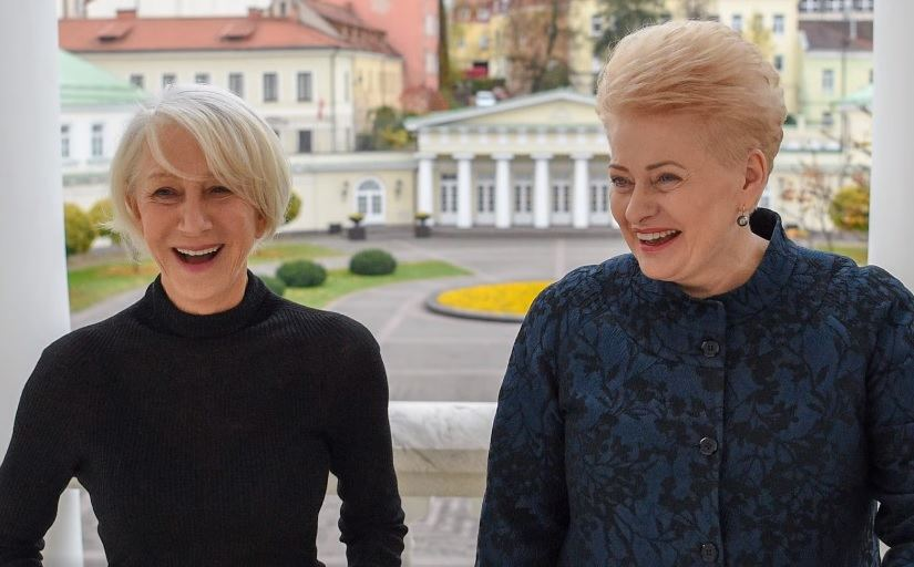 Helen Mirren, Dalia Grybauskaitė