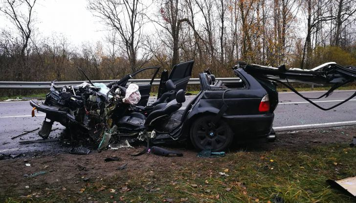 Po avarijos susidarė eismo spūstys