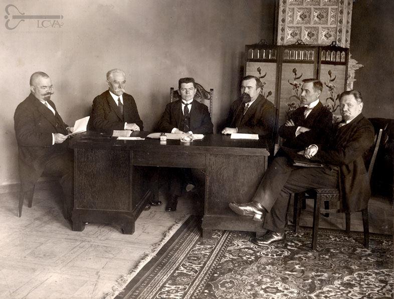 Ministrų kabinetas. Vilnius, 1918 m.