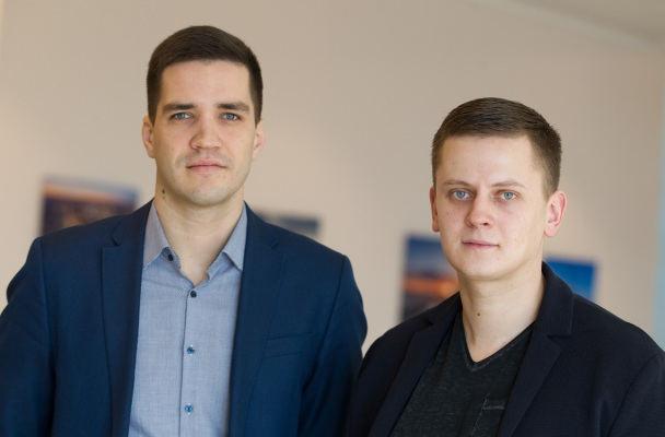 Gediminas Ratkevičius (kairėje) ir Domantas Čiuldė