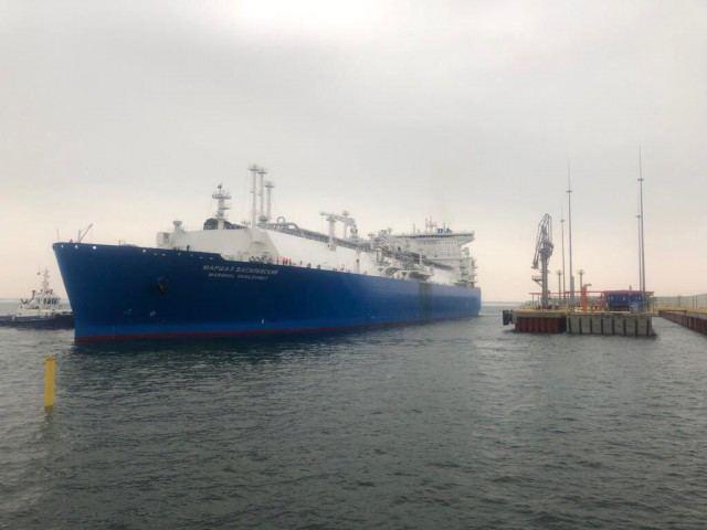 sgd tanklaivis Kaliningrade