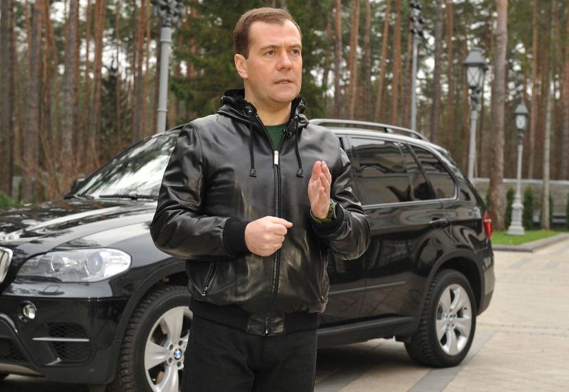 Dmitrijaus Medvedevo automobiliai: BMW X5
