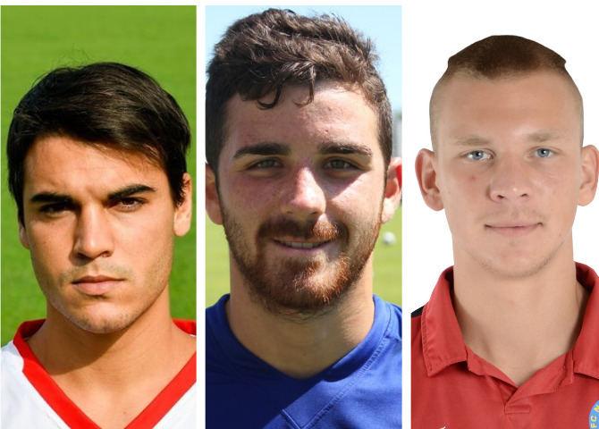 Filippo Boniperti, Pau Moreris ir Aleksejus Belovas.