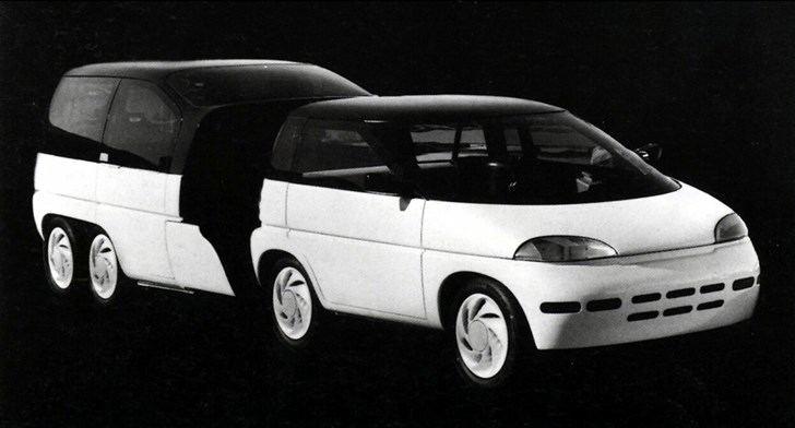"Koncepcinis automobilis ""Plymouth Voyager 3""."