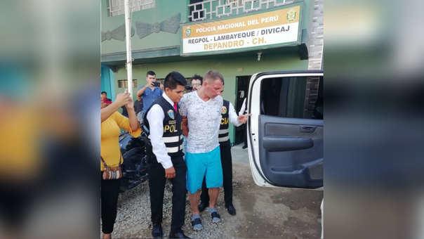 Peru sulaikytas lietuvis Vaidas Sereda