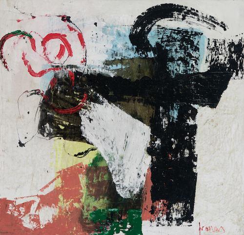"""Pranas Gailus. """"Adret (Saulėkaitoje)"""", 1998-1999 m., drobė, aliejus, 98x102 cm."""