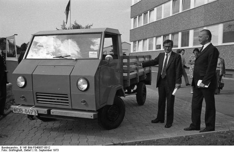 Volkswagen EA489 Basistransporter pristatymas