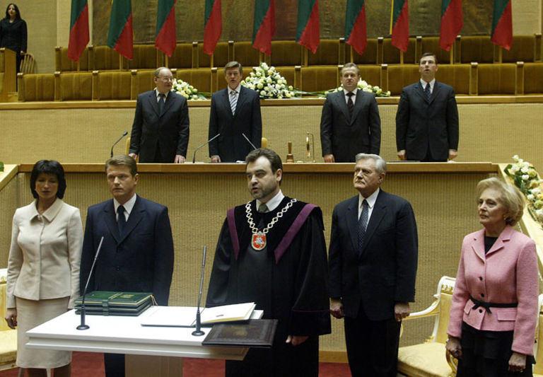 Olgos Posaškovos / lrs.lt nuotr./Rolando Pakso inauguracija