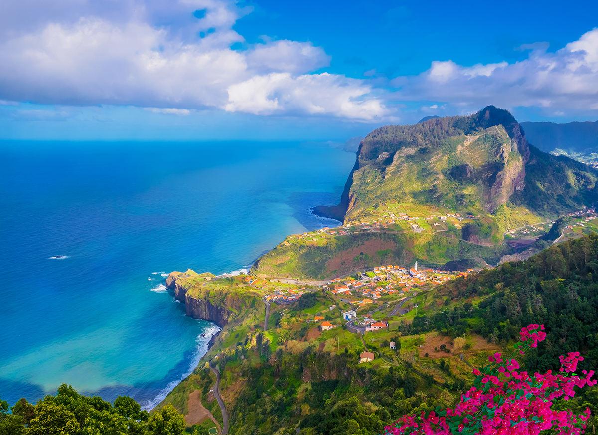 Madeira Cartina.Europos Vietos Kuriose Pasijusite Tarytum Egzotiskuose