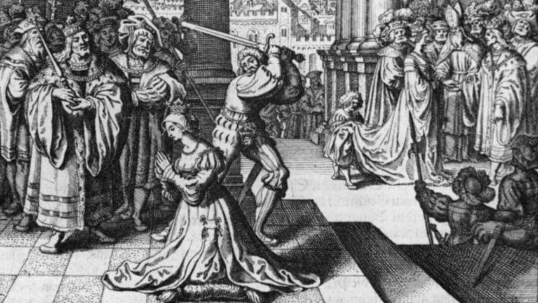 Annos Boleyn egzekucija