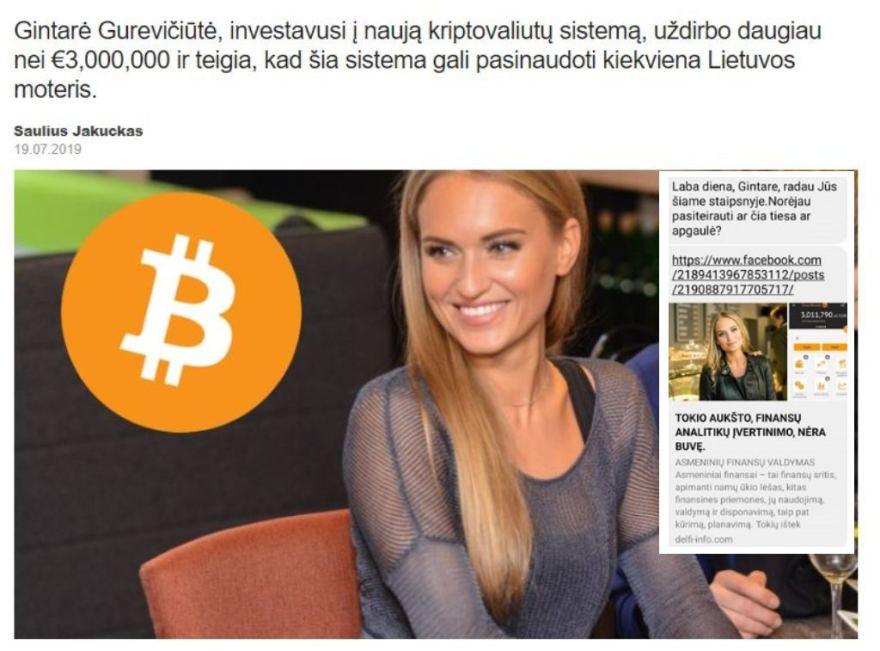 moteris bitkoinų milijonierė viršų 3 cryptocurrency investuoti 2020 m