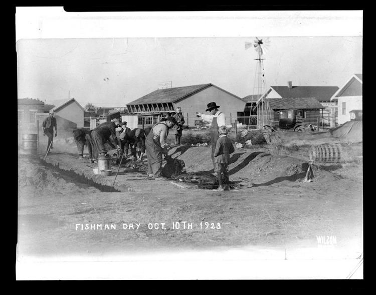 Fišmano diena. 1923 m.