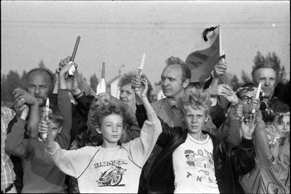 Baltijos kelias: atsiuntė Ignas Daublys