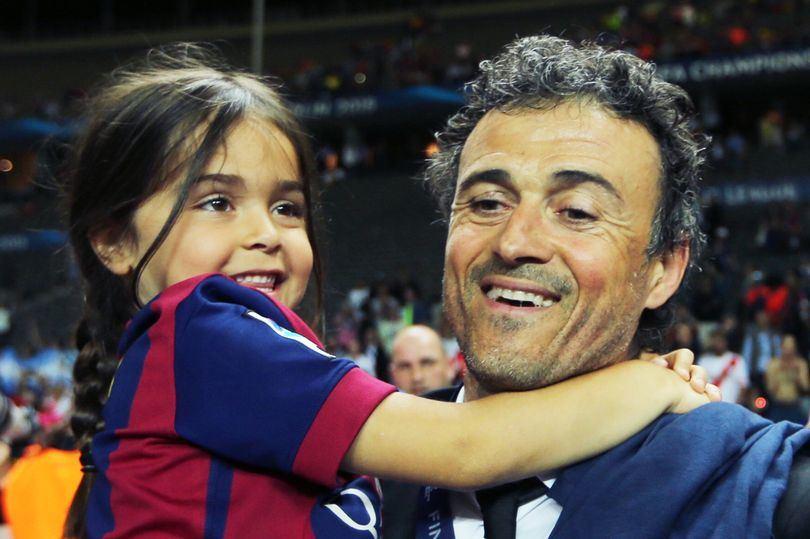 Luisas Enrique su dukra Xana