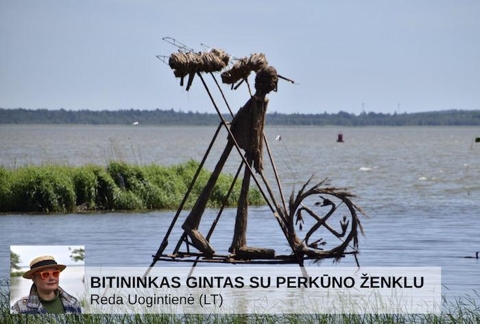Gintaro įlanką puošiančios nendrinės skulptūros netrukus bus sudegintos.