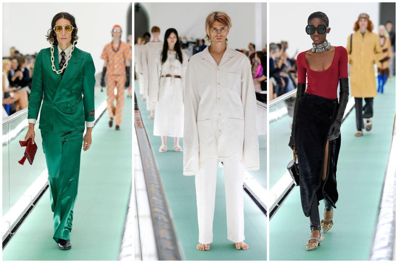 Iss Show 2020.Gucci Dizaineris Ant Konvejerio Paleido 60 Uniformų Tai