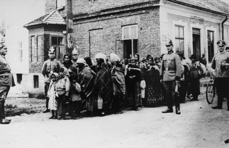 Vokiečių policija suima grupę romų