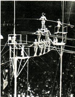 Lyno akrobatai Wallendos