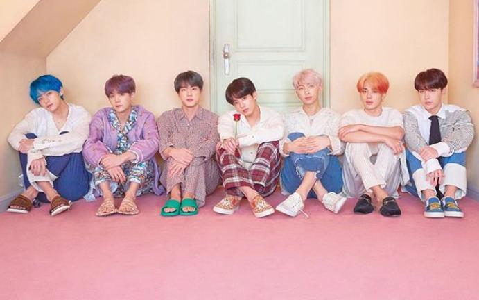 Vaikinų grupė BTS
