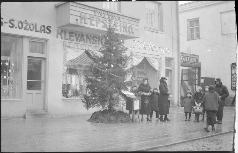 Kalėdų eglutė Šiauliuose tarpukariu