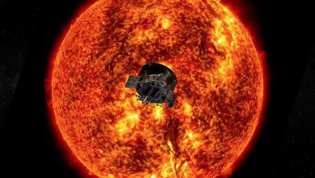 Saulė ©NASA/Johns Hopkins APL