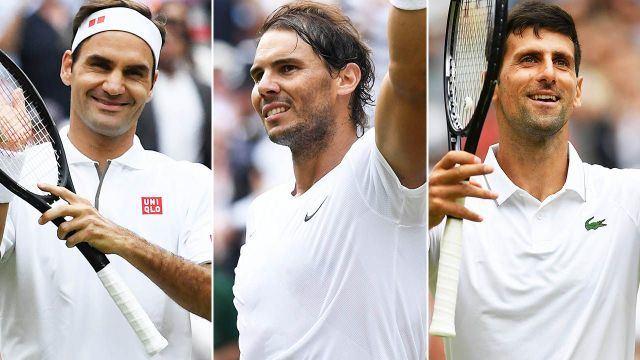 Rogeris Federeris, Rafaelis Nadalis ir Novakas Džokovičius