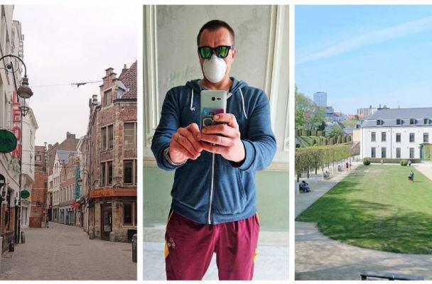 Gyvenimas karantino ritmu Briuselyje – tarsi nuolatinis tingus sekmadienis